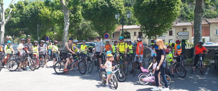 Fête du vélo : de La Raye à Valence